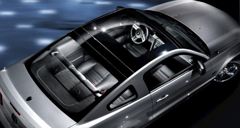 Elegant 2009 Mustang Glass Roof