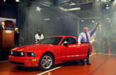 2005 Ford Mustang Launch